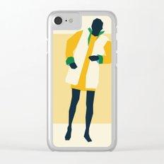 Fashion Dance 8 Clear iPhone Case