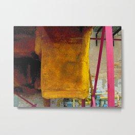 'Sponge Toffee' Metal Print