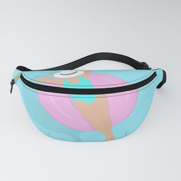 Lady in the pool Fanny Pack