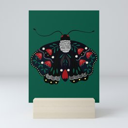 Forest Moth Mini Art Print