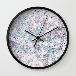 Johannesburg Map Wall Clock