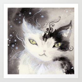 Stardust Pawing the Paradox Art Print