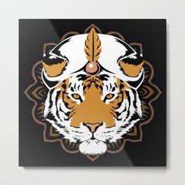 Sundarban Sultan Metal Print