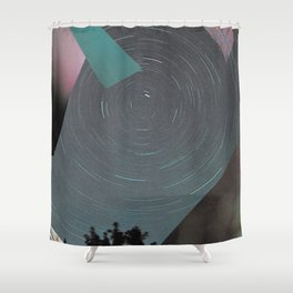 Space fencing I Shower Curtain