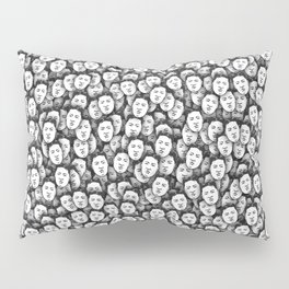 Kim Jong-un stickerbombing Pillow Sham