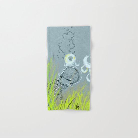 Squid Redone Hand & Bath Towel