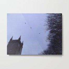 Winter Gothica Metal Print