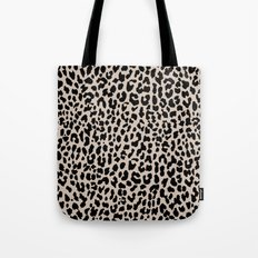 Tan Leopard Tote Bag