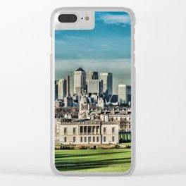 London - Canary wharf Towers Clear iPhone Case