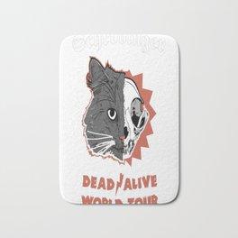 Schrodinger Dead  Alive World Tour Bath Mat