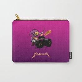 Zelda llinka - Purple Link Carry-All Pouch