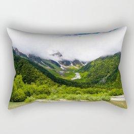 Green Nature Rectangular Pillow