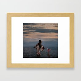 l'Univers secret de Yuki Framed Art Print