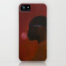 Red umbra iPhone Case