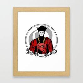 OG Omnipotence : Q - Star Trek:TNG Framed Art Print