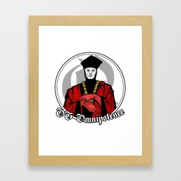 OG Omnipotence : Q - Star Trek:TNG Framed Art Print