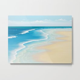 Faraway Summer Thoughts Metal Print