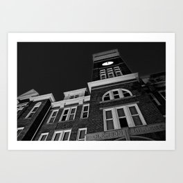 Tillman Hall at Clemson University Art Print