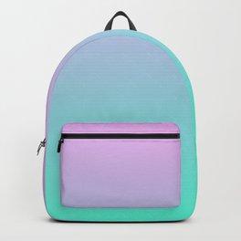 TROUBLED YOUTH - Minimal Plain Soft Mood Color Blend Prints Backpack