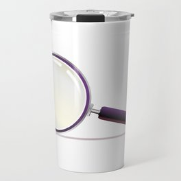 Magnifying Glass Travel Mug