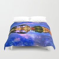 rome Duvet Covers featuring  space Rome by haroulita