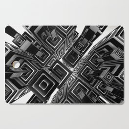 Opposing Forces Cutting Board