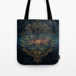 Cosmic blast Tote Bag