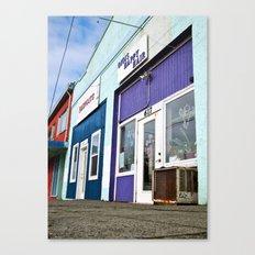 Architecture in color Canvas Print