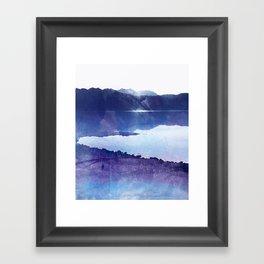 ABSTRACT LANDSCAPE DX Framed Art Print