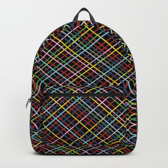 Weave 45 Black Backpack