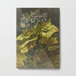 Vincent van Gogh - Cineraria Metal Print