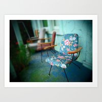 The Chairs Art Print