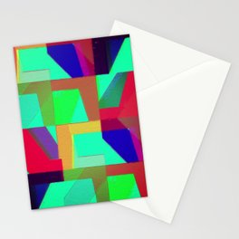 Colorful Truth. Green. Stationery Cards