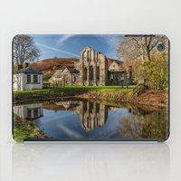 downton abbey iPad Cases featuring Abbey Reflection by Adrian Evans