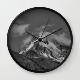 Mt. Kazbek Wall Clock