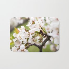 Plum Blossoms in the Early Spring Bath Mat