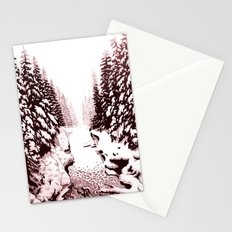 winter creek Stationery Cards