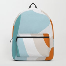 moab, teal & orange Backpack