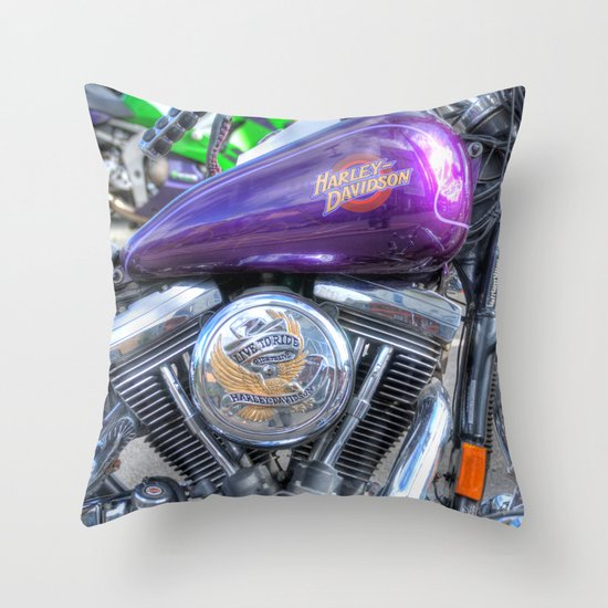 Harley 3 Throw Pillow