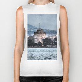 White Tower-Thessaloniki Biker Tank