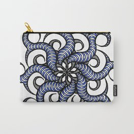 Reverse in blue Carry-All Pouch