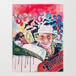 Fear and loathing Poster