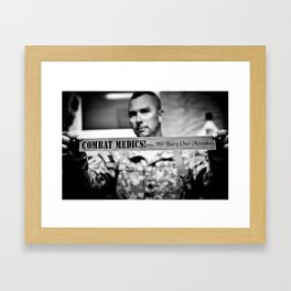 Combat Medics - We bury our mistakes Framed Art Print