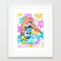 eugenia loli Framed Art Prints featuring Loli by prism0lly