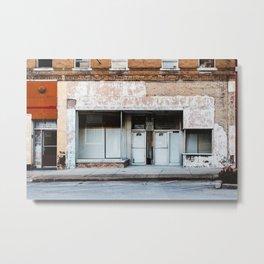 Brick & Mortar Metal Print