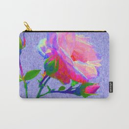 New Dawn Climbing Rose Painterly Carry-All Pouch