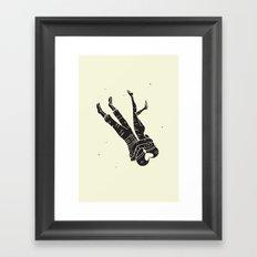 Head Over Heels - Revisited Framed Art Print