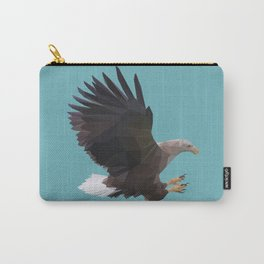 Polygonal Eagle Carry-All Pouch