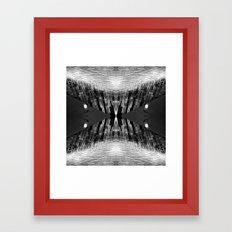 Vegas Lighting Framed Art Print