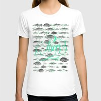 pisces T-shirts featuring Pisces by Sergi Ferrando